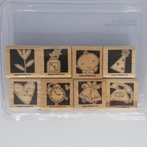 Stampin Up Occasionally Stamps EUC